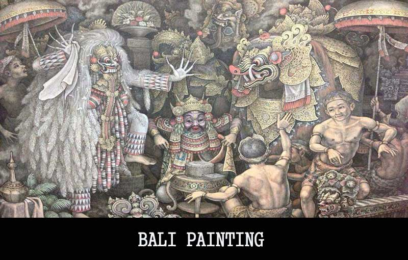 bali-painting | professional bali tour driver-private transport service-transportation service- bali day tours, bali day tour package